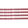Delica 11/0 Rd Cranberry Red Sparkle Crystal Lined